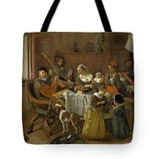 The Merry Family Tote Bag