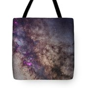 The Milky Way Around The Small Tote Bag