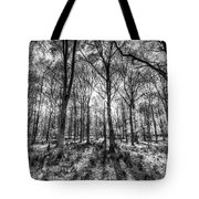 The Monochrome Forest Tote Bag