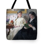 The Mother And Sister Of The Artist Tote Bag