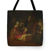 The Naming Of Saint John The Baptist Tote Bag