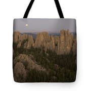 The Needles Protrude From Forests Tote Bag