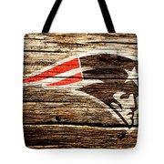 The New England Patriots 3a Tote Bag