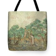 The Olive Orchard, 1889 Tote Bag