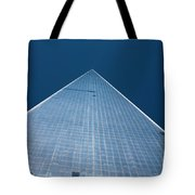 The One World Trade Centre Or Freedom Tower New York City Usa Tote Bag