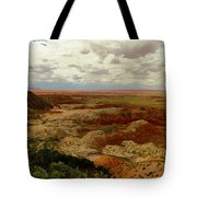 Viewpoint In The Painted Desert Tote Bag