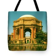 The Palace Of Fine Arts Tote Bag