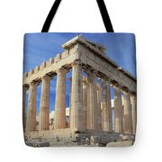 The Parthenon Acropolis Athens Greece Tote Bag