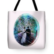 The Path Of Love  Tote Bag