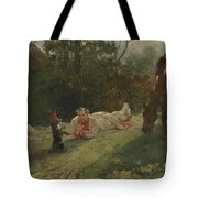 The Performing Dog Tote Bag