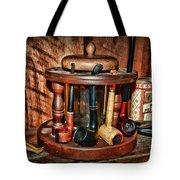 The Pipe Smoker Tote Bag