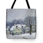 The Place Du Chenil At Marly Le Roi Tote Bag