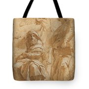 The Prophets Hosea And Jonah Tote Bag