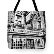 The Prospect Of Whitby Pub London Art Tote Bag