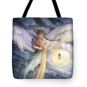 The Protector Tote Bag by Sara Burrier