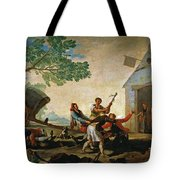 The Quarrel In The New Tavern Tote Bag