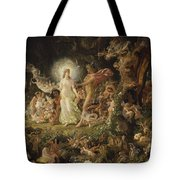 The Quarrel Of Oberon And Titania Tote Bag