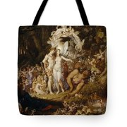 The Reconciliation Of Oberon And Titania Tote Bag