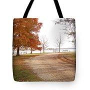 The Road Untraveled Tote Bag