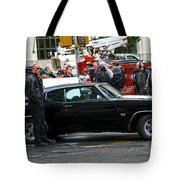 The Rock Dwayne Johnson On The Set Of The Other Guys Tote Bag