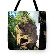 The Rocks At Hopewell Cape Tote Bag