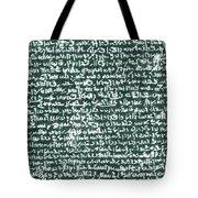 The Rosetta Stone Tote Bag