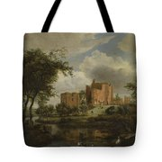 The Ruins Of Brederode Castle Tote Bag