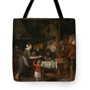 The Satyr And The Peasant Family Tote Bag