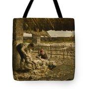 The Sheepshearing Tote Bag