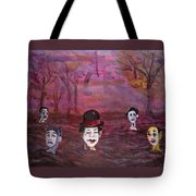 The Silence Of The Mimefield Tote Bag