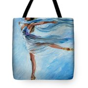 The Sky Dance Tote Bag
