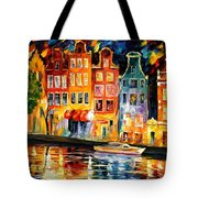 The Sky Of Amsterdam Tote Bag