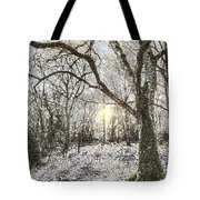 The Snow Forest Art Tote Bag