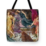 The Storm Spirits Tote Bag