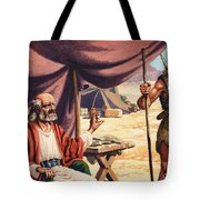 The Story Of Isaac Tote Bag