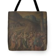 The Story Of Moses The Dance Of Miriam Tote Bag