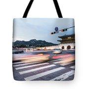 The Streets Of Seoul, South Korea Tote Bag