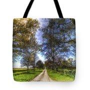 The Summer Farm Track Art Tote Bag