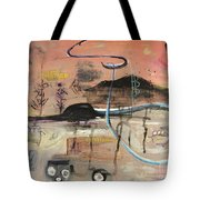 The Tempo Of A Day Tote Bag