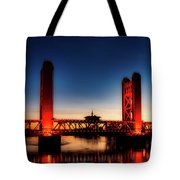 The Tower Bridge At Sunset Tote Bag