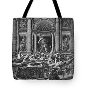 The Trevi Fountain  Tote Bag
