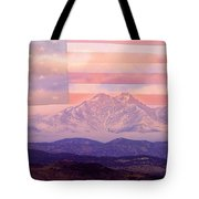 The Twin Peaks - 9-11 Tribute Tote Bag
