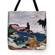 The Unimaginable Dream Of The Fish 22 Tote Bag
