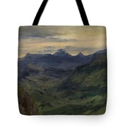 The Valley Of Saint-vincent Tote Bag