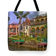 The Venice Canal Historic District Tote Bag