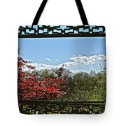 The View From The Window Tote Bag