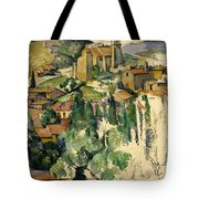 The Village Of Gardanne  Tote Bag