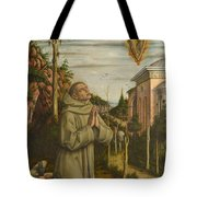 The Vision Of The Blessed Gabriele Tote Bag