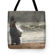 The Watcher, Tynemouth Tote Bag