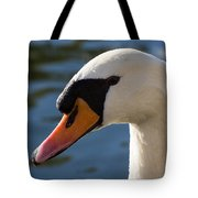 The Watchful Swan Tote Bag